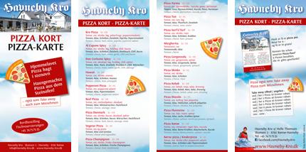 Pizza-Karte