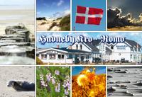 Postkarte Rømø Havneby Kro